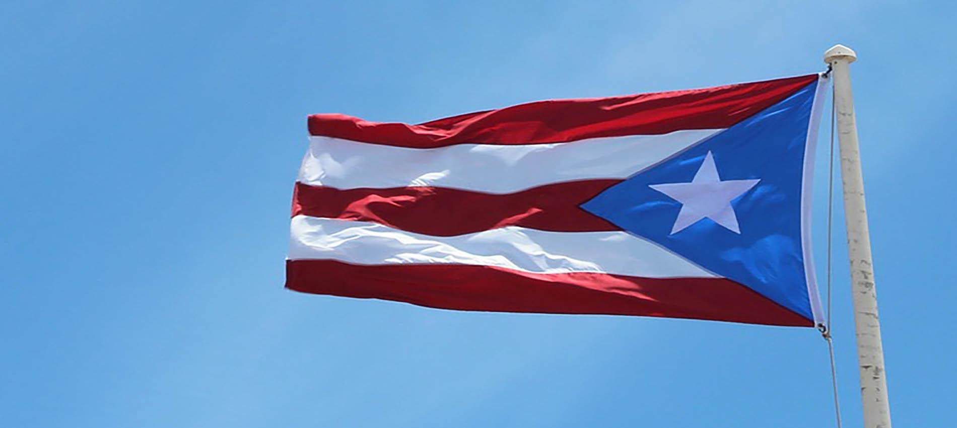 Puerto Rican flag.
