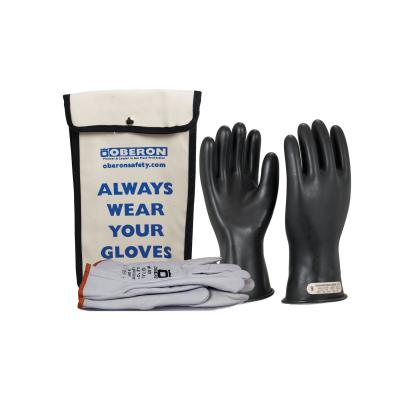 Oberon Co.'s rubber electrical glove kit