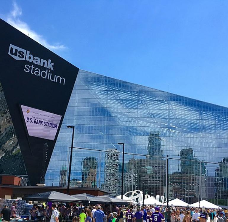 U.S. Bank Stadium (Wikimedia Commons)