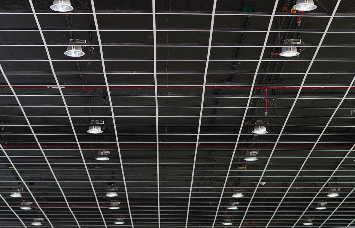 Cords Above Ceilings Parking Lot Lighting And More
